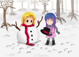 You'd be a wonderful snowman! by tomoyo-chan10