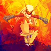 SD 06122013: Blaziken by mopomoko