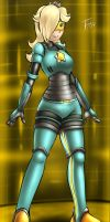 Armored Rosalina - Commission by Fenril-Huayra