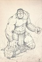World War Hulk Sketch by erdna1