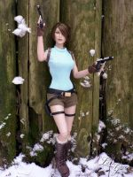 Classic Beauty : Official Lara Croft Tonner doll 4 by Laragwen