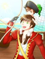 APH - Spain and Romano by Sternenkeks