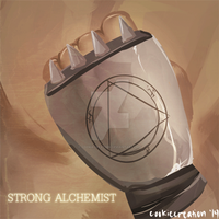 ::GIF:: Strong Alchemist (Click to see) by cookiecreation