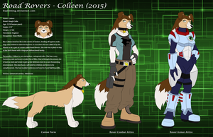 Road Rovers - Colleen (2015) Character Sheet by 6spiritking