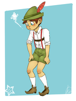 South Tyrolean shorts by Gidan-Kuroki