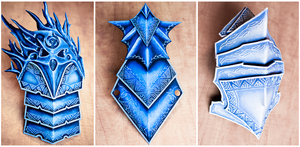 Guild Wars 2 - Orrian Armor Pieces (Progress) by elliria