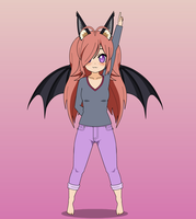 Yumi The Bat by Rokku-D