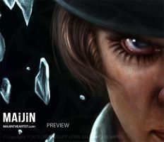 FINAL PREVIEW | CLOCKWORK ORANGE (ALEX) by MAiJiNTHEARTIST