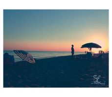 .summer ending sunset. by multicolorlips
