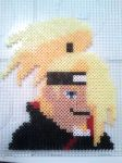 Deidara made of pearls by Iloveyoukisshu