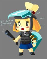 Riot Squad Isabelle by veloxiraptor