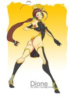 Celestial Ring Dione (Saturn's Moon) by Miss-TaDa