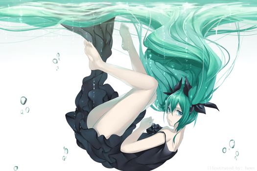 Deep Sea Girl by Hews-HacK
