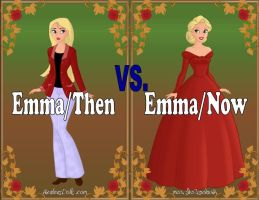 Emma: Then vs. Now by Sunshine-Girl524