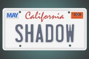 Cali license plate by Shadowx04