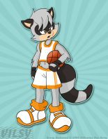 B-Ball Kenny Rockwood by vilsy