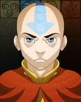 Aang: One with the Elements. by CurtisRU