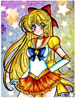 Eternal Sailor Venus by eleoyasha