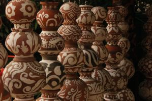 Patterned Pots by ross-rae