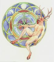 Horned God by Jadine