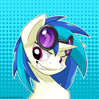 Icon #1 Vinyl Scratch by Neoncel