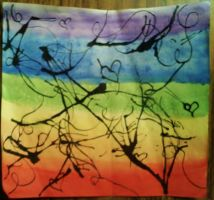 My abstract watercolor. by deanna22310