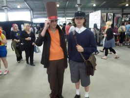 Supanova 2012 - Layton and Luke by nkbswe5
