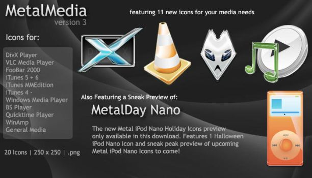 Metal Media v3 by edenprojects