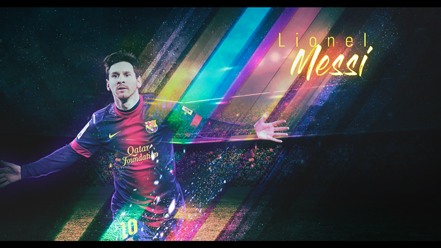 Lionel Messi - abs by OneDayGFX