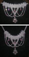 Crystal Romance Necklace by enchantress13