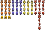 Five Nights at Freddy's RPG Maker Fan Sprites by Chaosian01