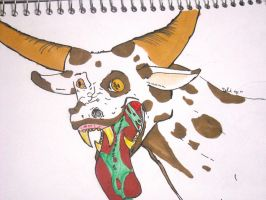 Mad Cow Disease by Dalidarling