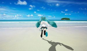 MMD Miku's Vacation 6 by MikuHatsune01