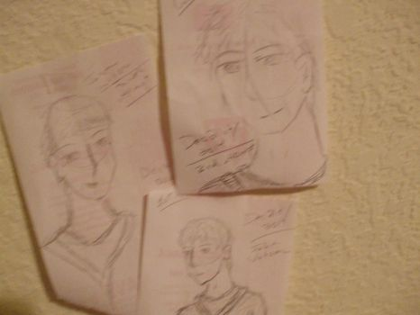 attempts at drawing John Watson by djlee6