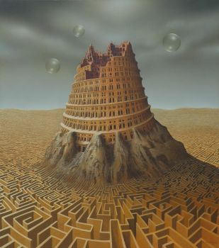 Tower of Babel by AndreasZielenkiewicz