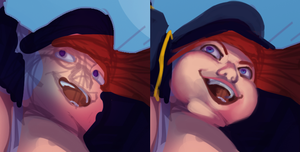 face WIP by 0pik-0ort
