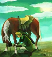 LoZ - Take a break by Barablu