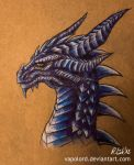 Ice Dragon by Vapolord