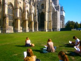Canterbury Cathedral by GraceDoragon