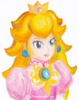 Princess Peach by Fureia
