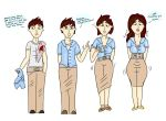 Stolen Uniform : TG Transformation by Grumpy-TG