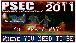 PSEC 2011 WSR You Are Always Where U Need 2 Be by paradigm-shifting