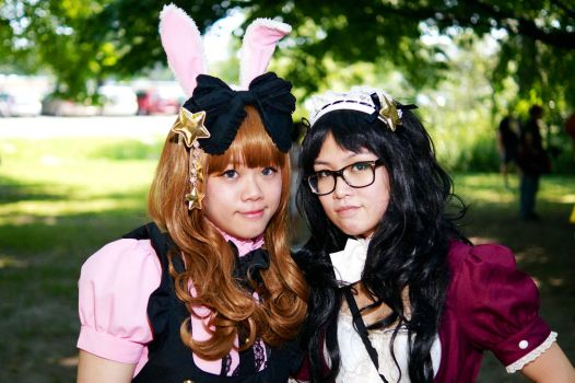 Maid/Lolita Outfits High Park 2015 #02 by Lightning--Baron
