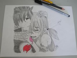 Natsu and Lucy by Mimi-chan19