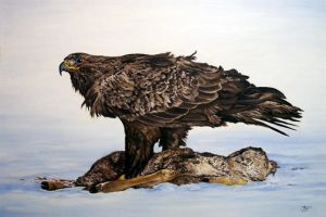 Lord of the Sky - Golden Eagle by HOULY1970