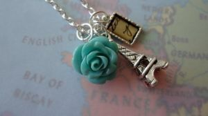 Travel to Paris Necklace by DayDream-Jewels