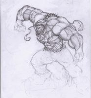 venom+hulk by nithin10