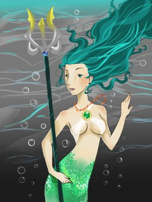 Amphitrite coloured
