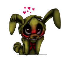 Lovey Dovey Blushtrap (200th Deviation!!) by FenneceetheCabinKit