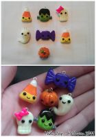 Halloween Charms by Suki-Yume